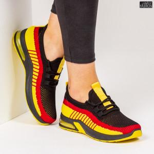 Pantofi Sport ''ALD Fashion HQ-14-79 Black''