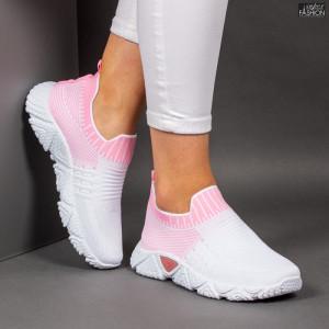 Pantofi Sport ''ALD Fashion HQ-209-275 White Pink'' [D4D8]