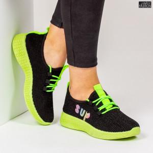 Pantofi Sport ''ALD Fashion HQ-36-173 Black '' [D2E1]