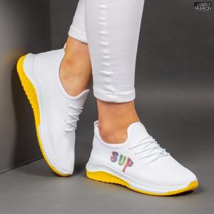Pantofi Sport ''ALD Fashion HQ-4-30 White'' [D9D4]