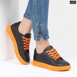 Pantofi Sport ''ALD Fashion HQ-91 Black''