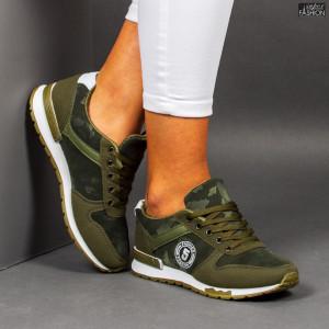 "Pantofi Sport ""ALL Fashion B67 Green"""