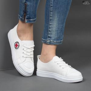 Pantofi Sport ''BAO Fashion C-7 White '' [D14C8]