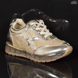 Pantofi Sport Copii ''MRS M99-16 Gold'' [D3C8]