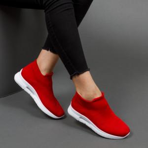 Pantofi sport ''DCF.68 Fashion 6680 Red'' [D23E12]