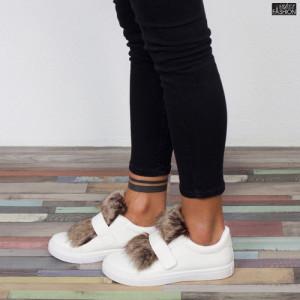 """Pantofi Sport """"GOGO 6180-2 White"""""""