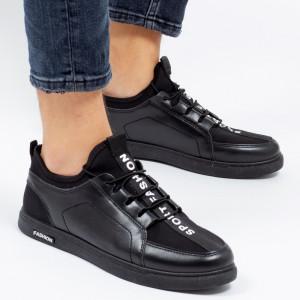 Pantofi sport ''Khatlon 1811 Black'' [S23E10]