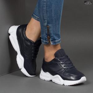 Pantofi Sport ''Lavy W-7 Black Blue''