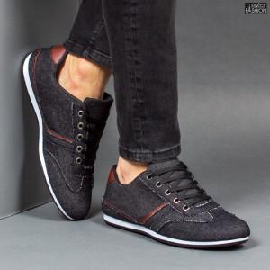 "Pantofi Sport ""Meek G-820 Black"""
