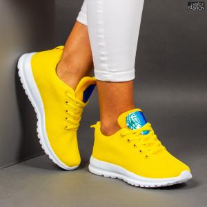 """Pantofi Sport """"Meek YF-106 Yellow"""""""