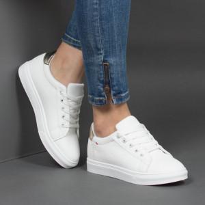 Pantofi Sport ''MERIDIAN Fashion 912 White Gold'' [D8E1]