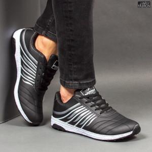 Pantofi Sport ''RED STAR Fashion C-26 Black Silver''