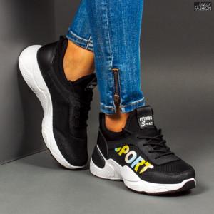 Pantofi Sport ''Se7.en 23-36 Black''