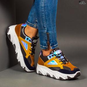 Pantofi Sport ''Se7.en D760 Blue''