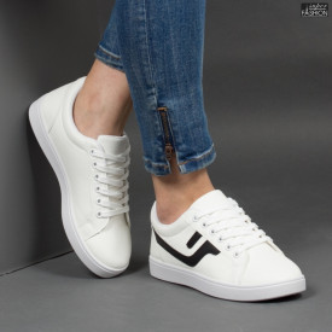 Pantofi Sport ''Veer Fashion A1810-2 White'' [D1D7]
