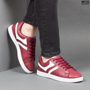 Pantofi Sport ''Veer Fashion B2811-4 Wine Red''