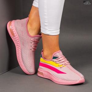 """Pantofi Sport """"Z Fashion ZA-76 Pink"""" [D18D6]"""
