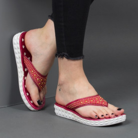 Papuci ''Aierda 8801 Red''