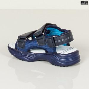 sandale baieti albastre