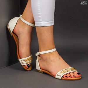 Sandale ''D.L. Fashion T-13 White''