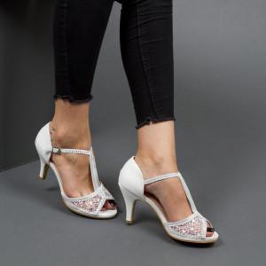 Sandale ''Mei Fashion QZL9803 White''