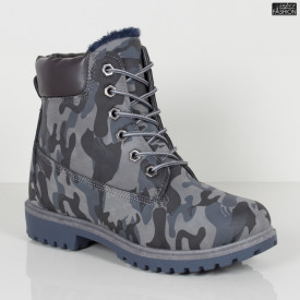 Ghete ''GGM 1809 Blue Camouflage'' [D19B8]