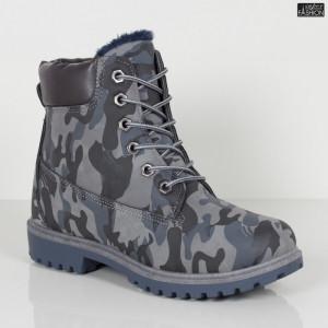 Ghete ''GGM 1809 Blue Camouflage''