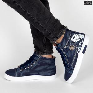 Ghete Sport ''Fashion Balq B-025 Blue'' [S9B8]