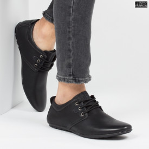 Pantofi ''HeroWay A8005-3 Black''