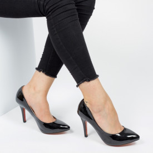 Pantofi ''Mei Fashion OL-0143 Black''