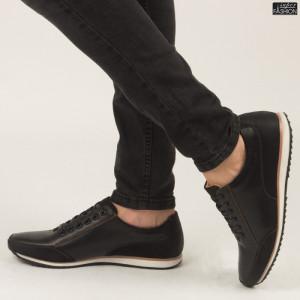 "Pantofi ''Renda 34-6 Black"""