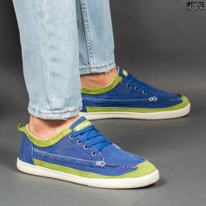 Pantofi Sport ''23DEC. M9033-03 Royal Green'' [S2C1]