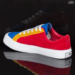 Pantofi sport ''ABC H2203 Red Yellow'' [D19B12]