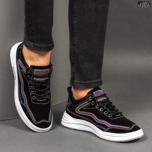 Pantofi Sport ''ABC L5080 Black'' [S3E2]