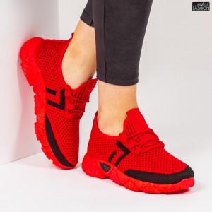 Pantofi Sport ''ALD Fashion HQ-203-247 Red Black''