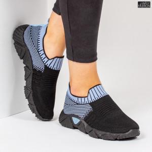 Pantofi Sport ''ALD Fashion HQ-209-272 Black Blue''