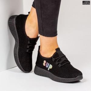 Pantofi Sport ''ALD Fashion HQ-36-171 Black '' [D20D4]