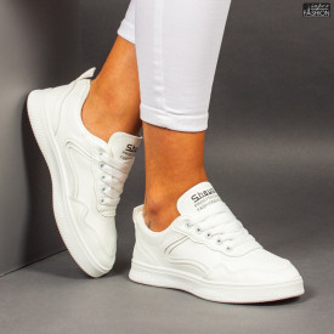 """Pantofi Sport """"ALL Fashion 201 White"""""""
