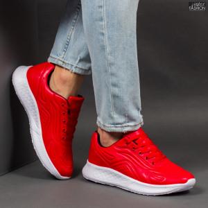 Pantofi Sport ''ALL Fashion A8912-3 Red''