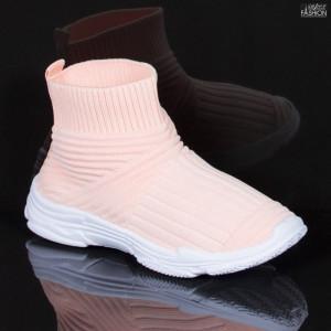 Pantofi Sport Copii ''Meek YF-101 Pink'' [D16C6]
