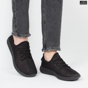 Pantofi Sport ''Fashion Style D-1 Black'' [S10B1]