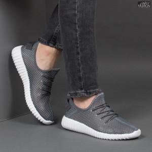 Pantofi Sport ''Fashion Style D-1 Grey'' [S14D7]