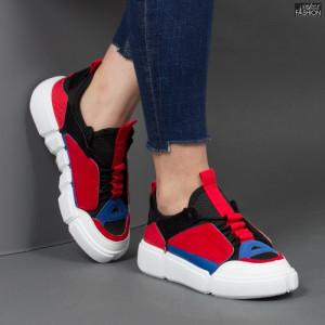 Pantofi sport ''Mei YKQ68 Black'' [D5E13]