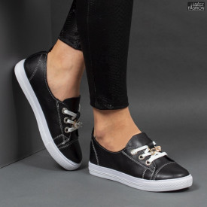 Pantofi Sport ''RED STAR Fashion 296 Black'' [D9C2]
