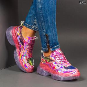 Pantofi Sport ''Se7.en X657 Pink''