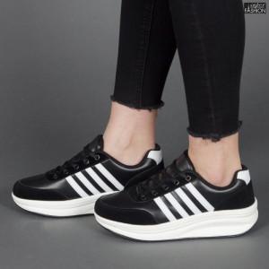 Pantofi Sport ''Sport Shoes 03 Black White''