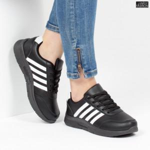 Pantofi Sport ''Veer Fashion A1817-1 Black'' [D16E8]