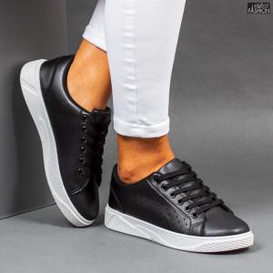 Pantofi Sport ''Veer Fashion F1826-1 Black White''