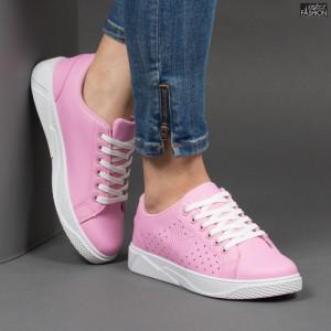 Pantofi Sport ''Veer Fashion F1826-7 Pink'' [D10E10]