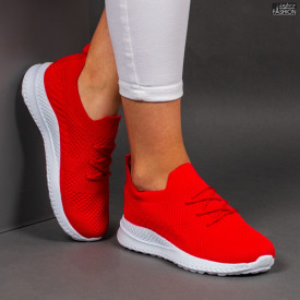 Pantofi Sport ''WE Fashion 2201 Red '' [D11B11]